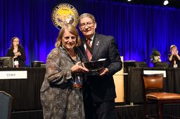 Alumna receives top honor from California Medical Association
