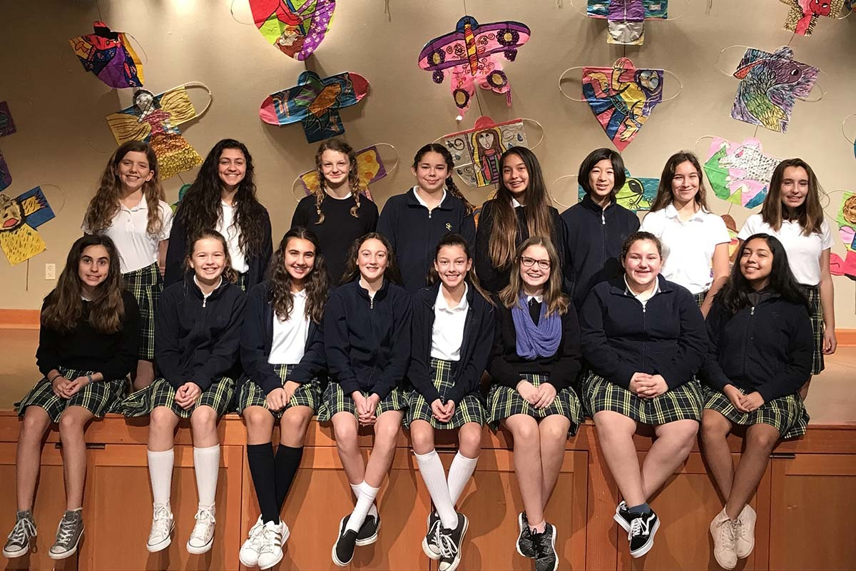 17 students selected for Middle School Honor Choir