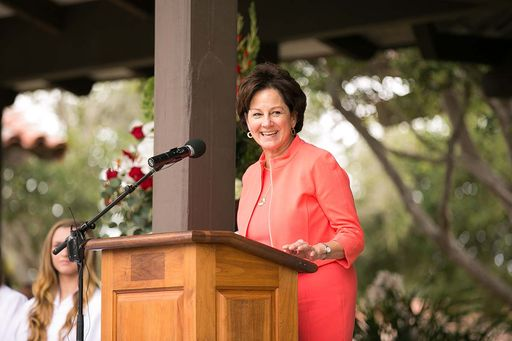 Commencement speaker Monica Lozano '74: 'Find not just your passion, but your purpose'