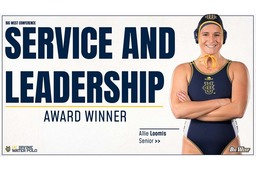 Allie Loomis '14 earns Big West leadership award