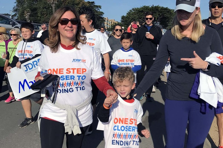 Join us for the annual JDRF One Walk