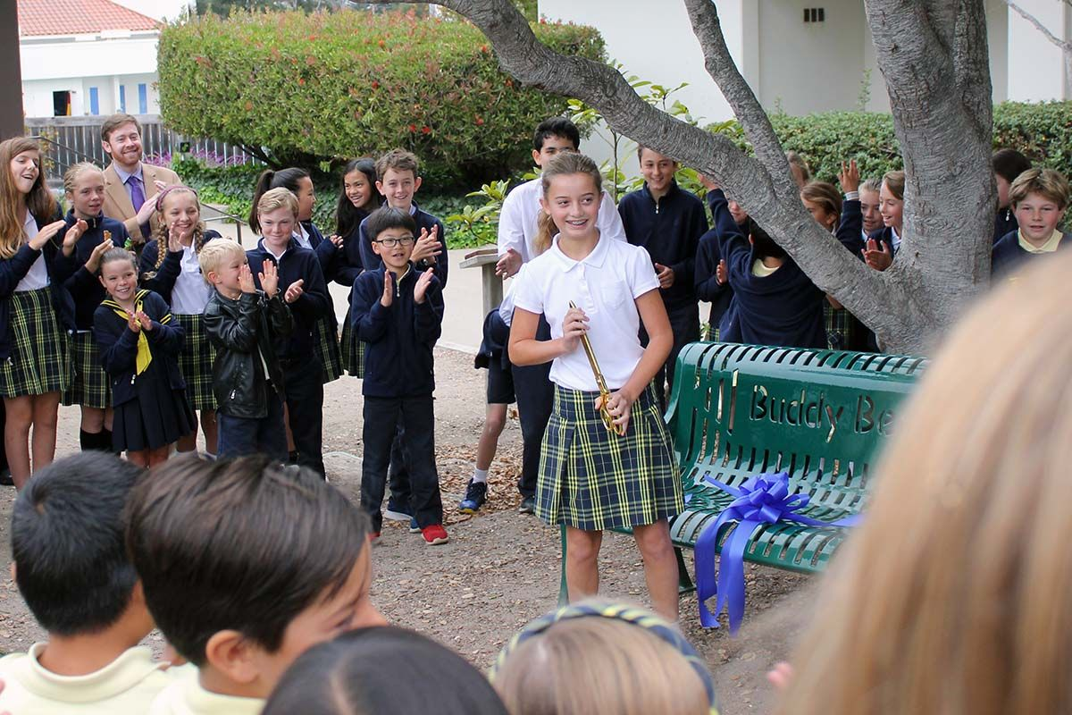 Idea becomes reality as Catalina gets a Buddy Bench