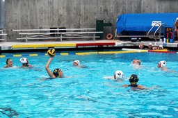 Water polo going strong