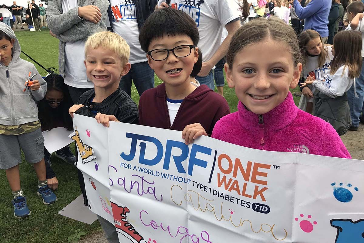 Team Cougars Care sets new record in JDRF walk