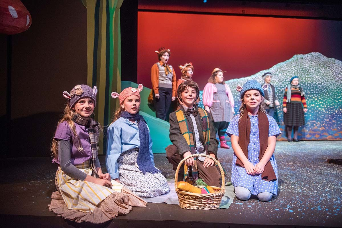 12 students charm audience in Upper School musical
