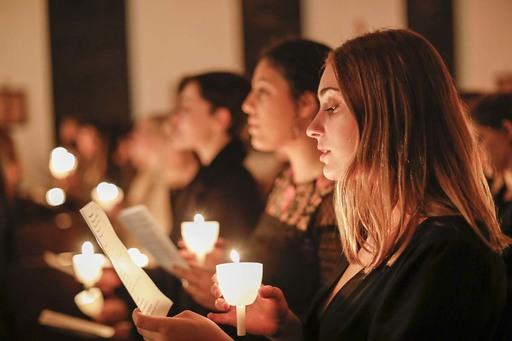 VIDEO: Candlelight Mass, an evening of faith and song