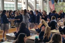 Class and character: Assembly honors student achievements