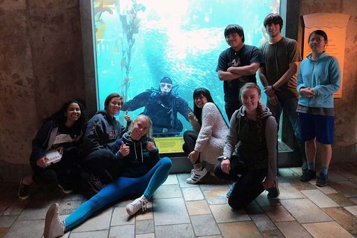 Monterey Bay Aquarium student volunteers share their experience