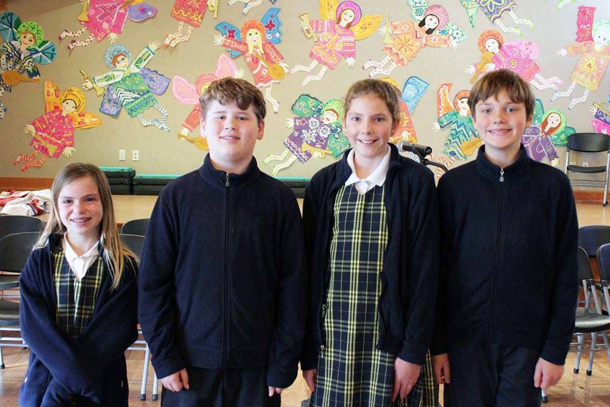 It was a 'doozy': Grades 4 and 5 compete in spelling bee
