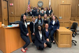Mock trial team makes a statement at county competition