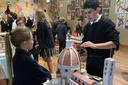 Seventh-graders build a piece of history