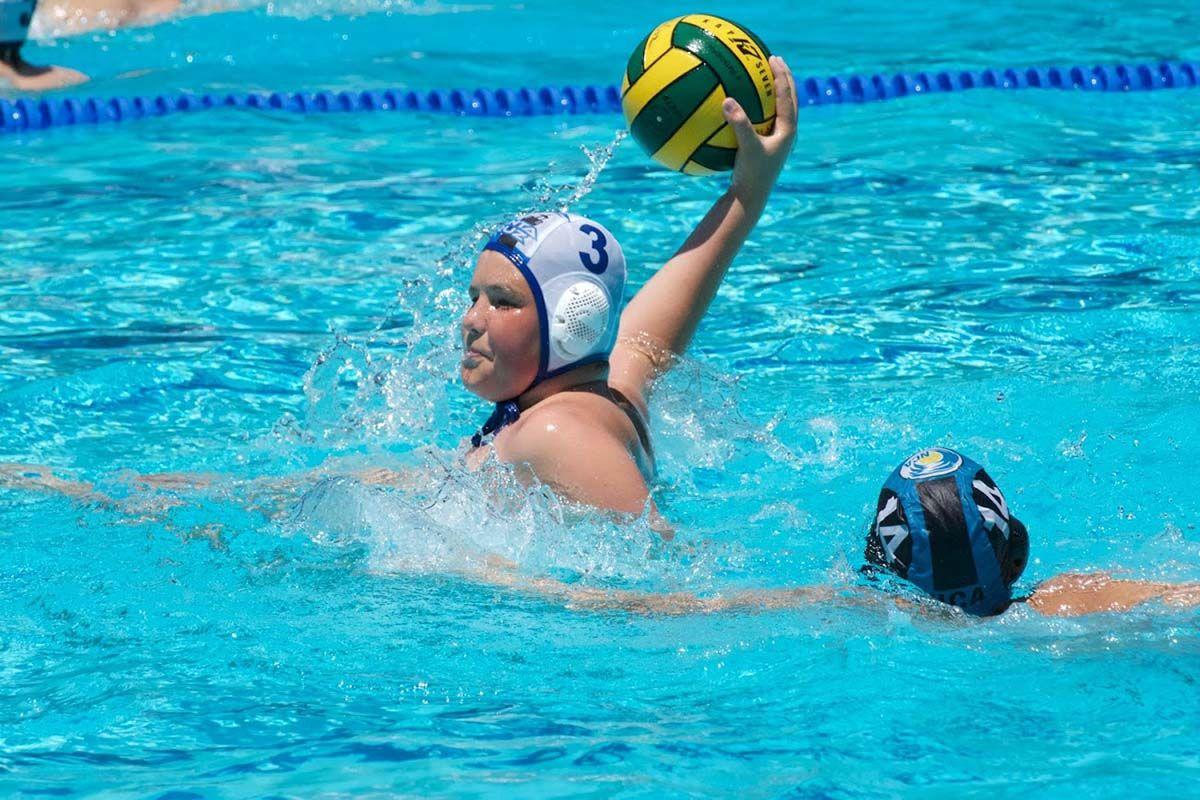 Eighth-grader making big splash in water polo