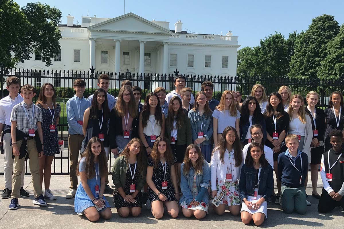 Grade 8's Washington, D.C., trip filled with firsts, meaning