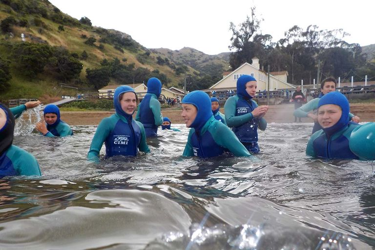 Science and snorkeling at the Catalina Island Marine Institute