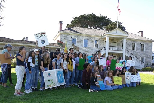 Santa Catalina students join worldwide climate strike