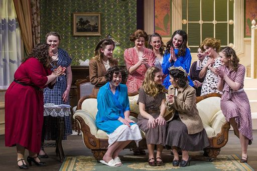 'Stage Door' depicts life in an all-girls boarding house. Sounds familiar.
