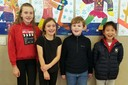 Spellers in grades 4-8 show off their skills