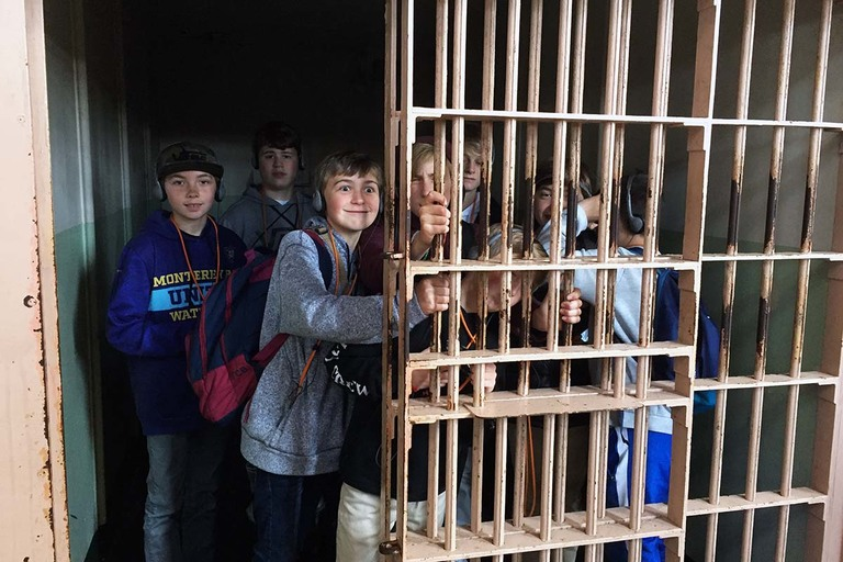 Middle School students take trip to Alcatraz