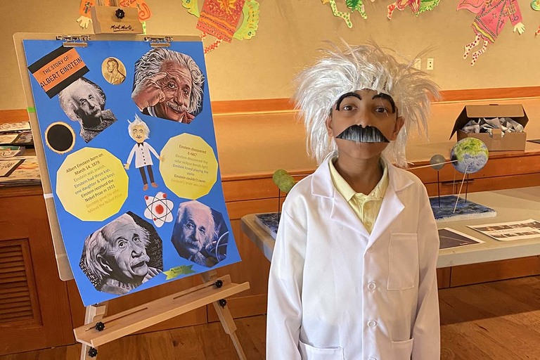 Grade 3 hosts 'Living Museum of Important People'