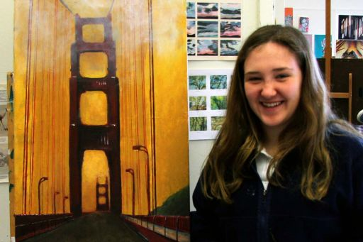Junior places third in Congressional art contest