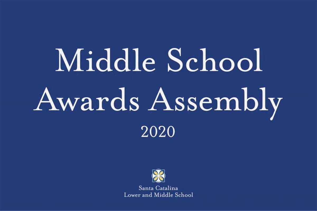 Middle School Awards ceremony honors scholars, leaders, more