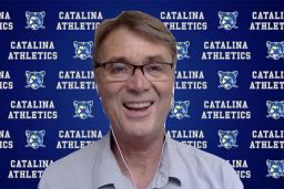 Athletic Director Paul Elliott receives Sister Carlotta award