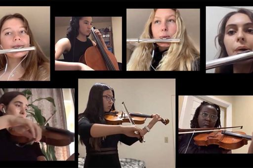 Watch: Chamber Ensemble performs apart, together