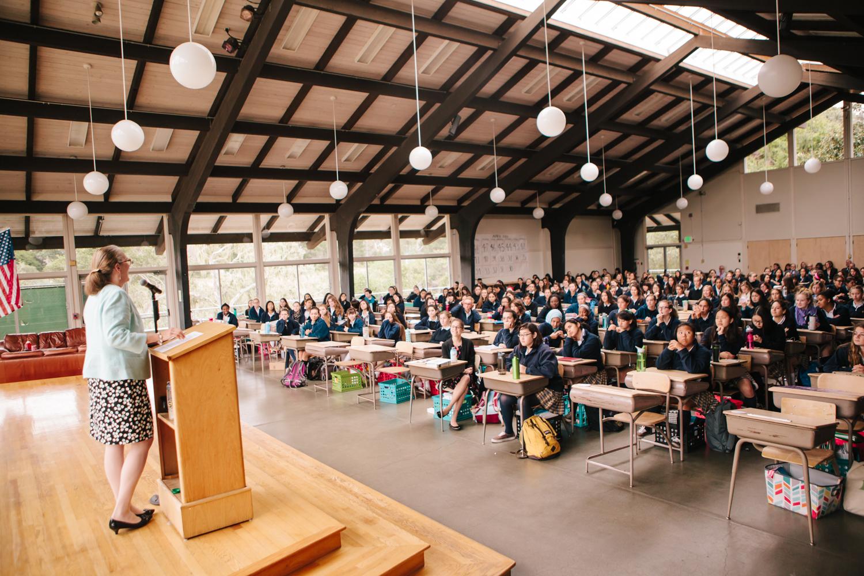 Exchange Service Center >> Study Hall - Santa Catalina School